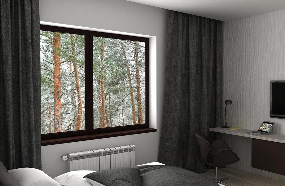 Solution de vitrage pour chambre et bureau QFORT
