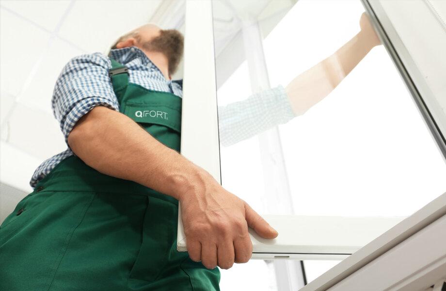Pose de fenêtres en PVC ou Alu QFORT
